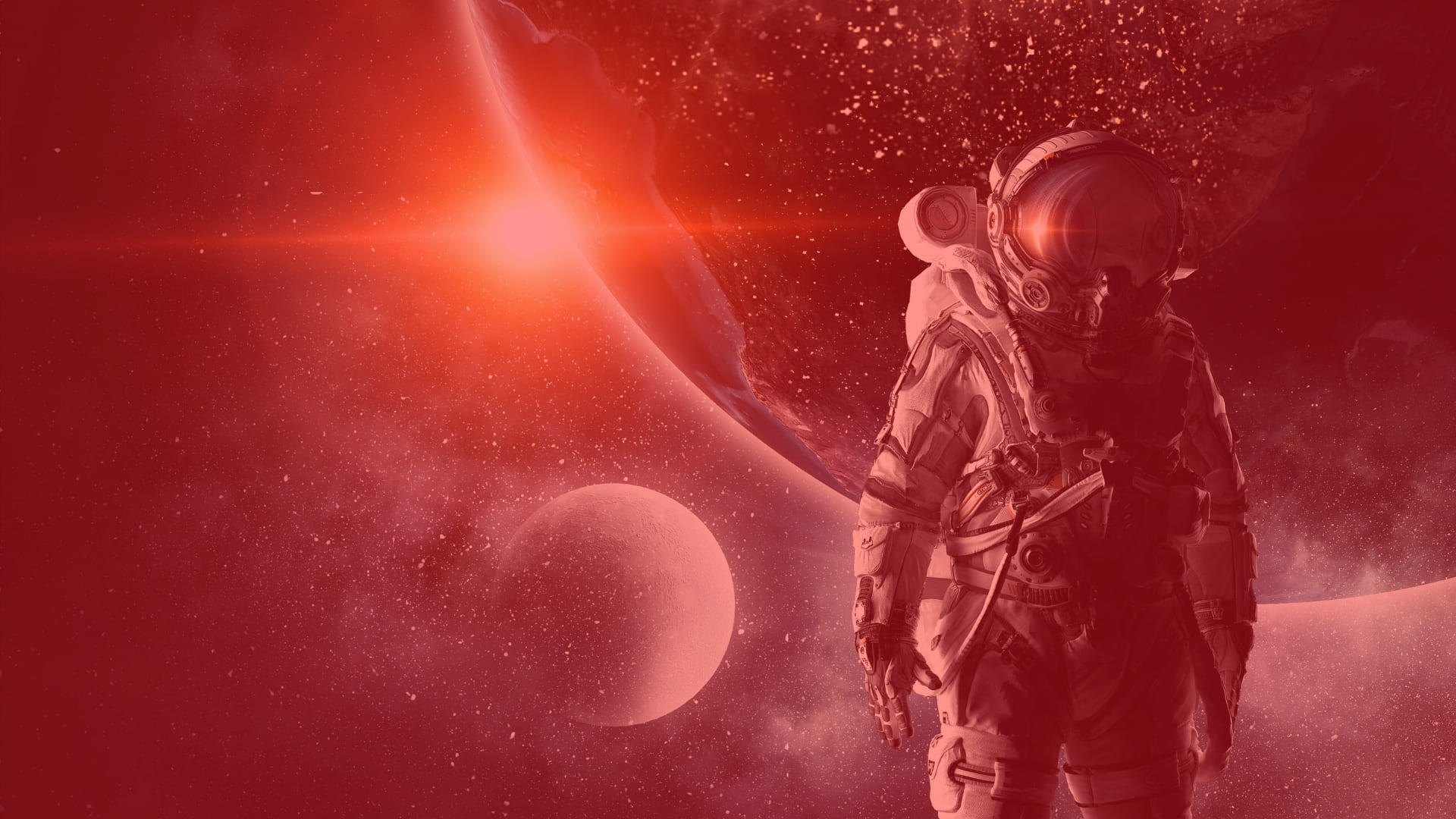 Red Space wallpapers