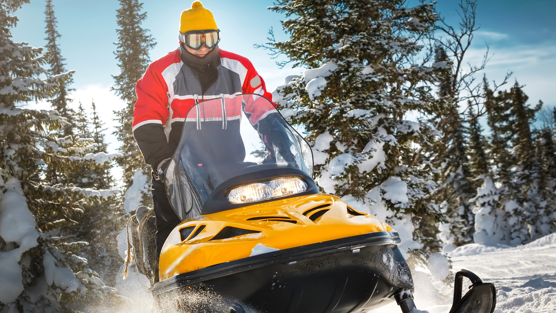 Snowmobiling wallpapers