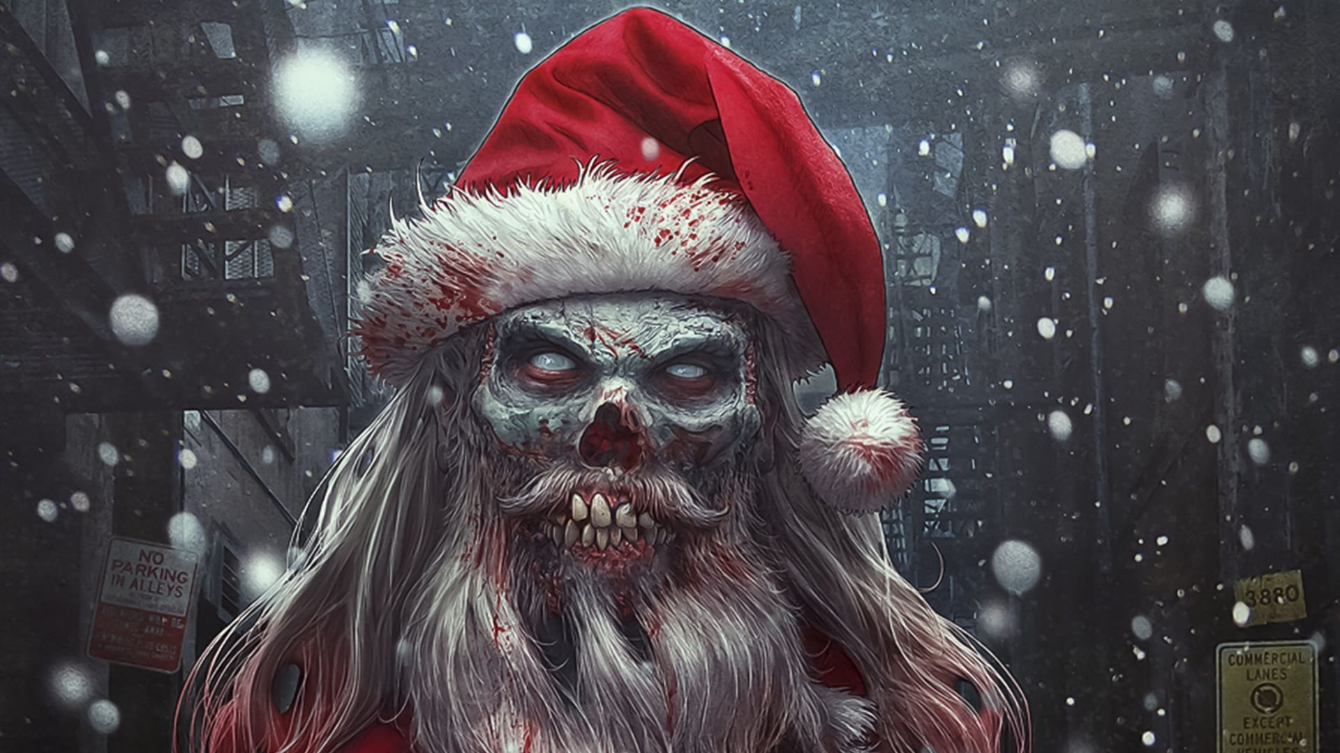 Scary Christmas wallpapers