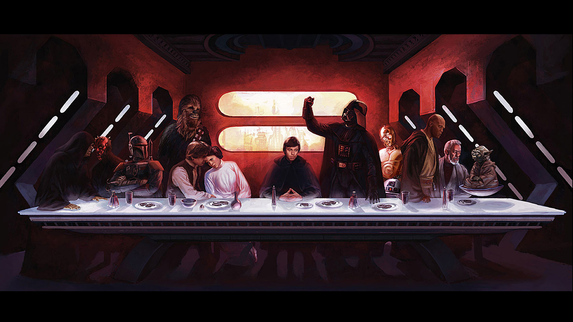 star wars outer space
