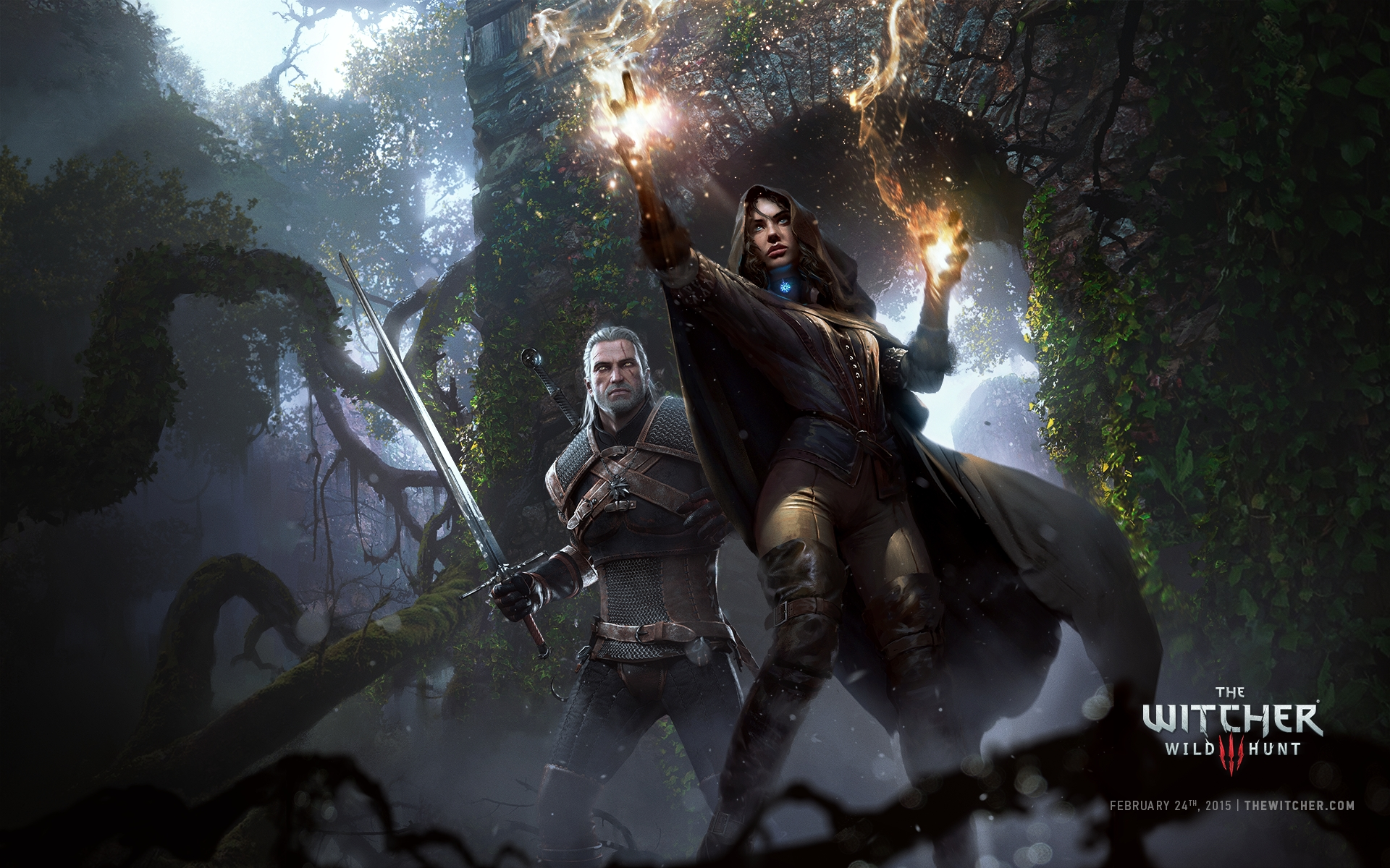 The witcher 3 wallpaper 2560x1440