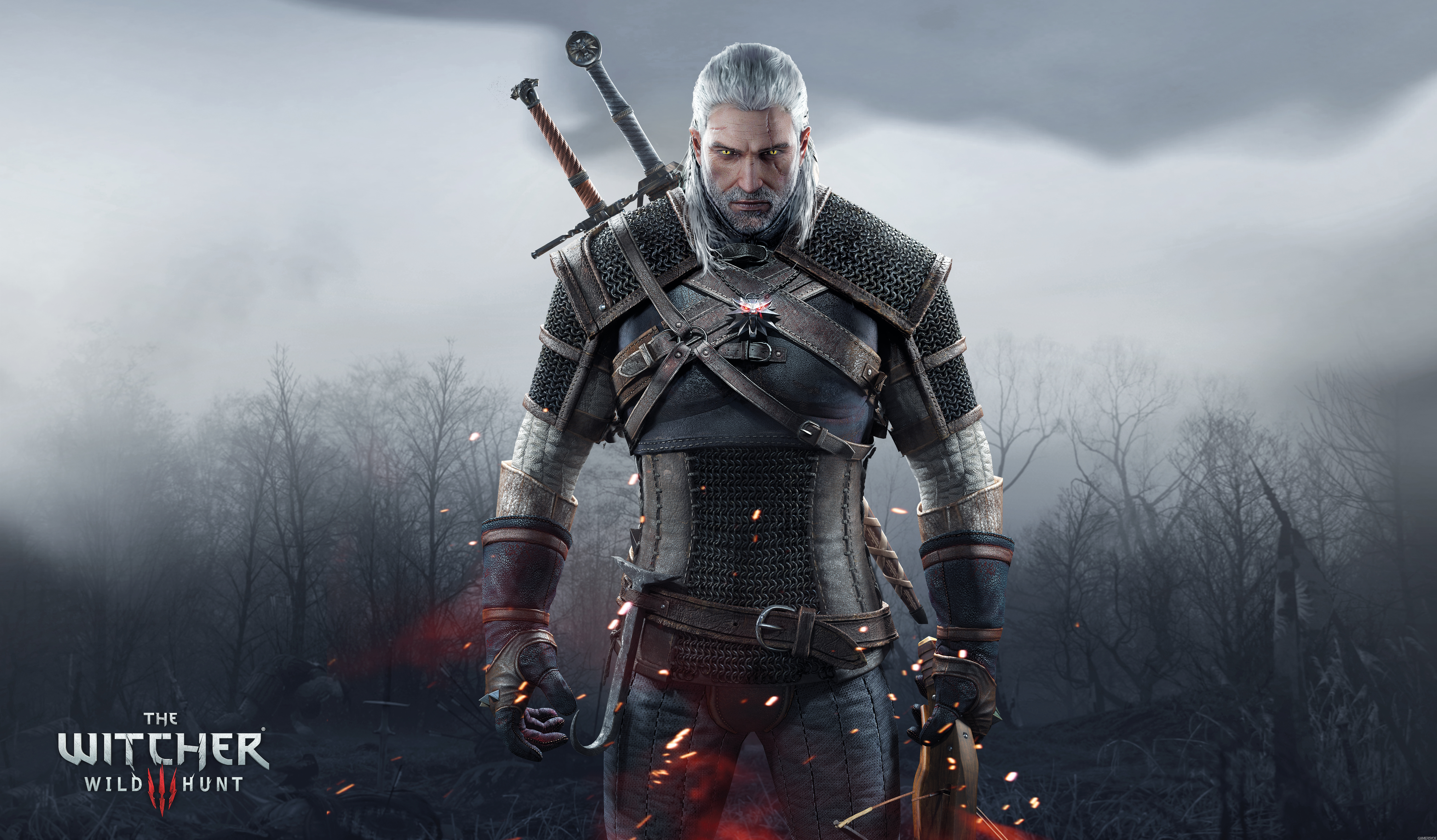 The witcher phone wallpaper