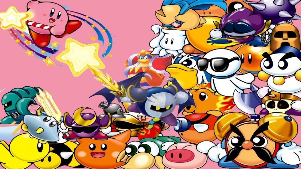 kirby game background