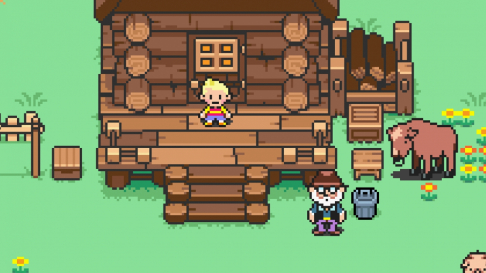Mother 3 backgrounds