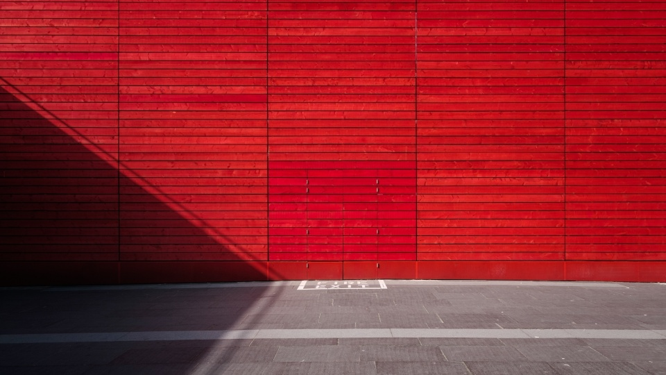 Aesthetic background red