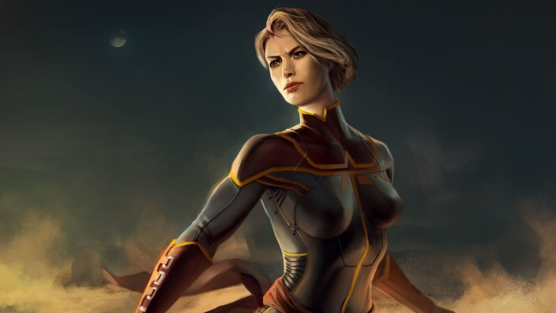 Picture of captain marvel