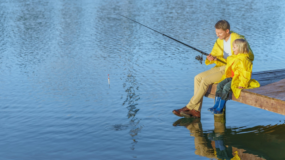 cool fishing backgrounds