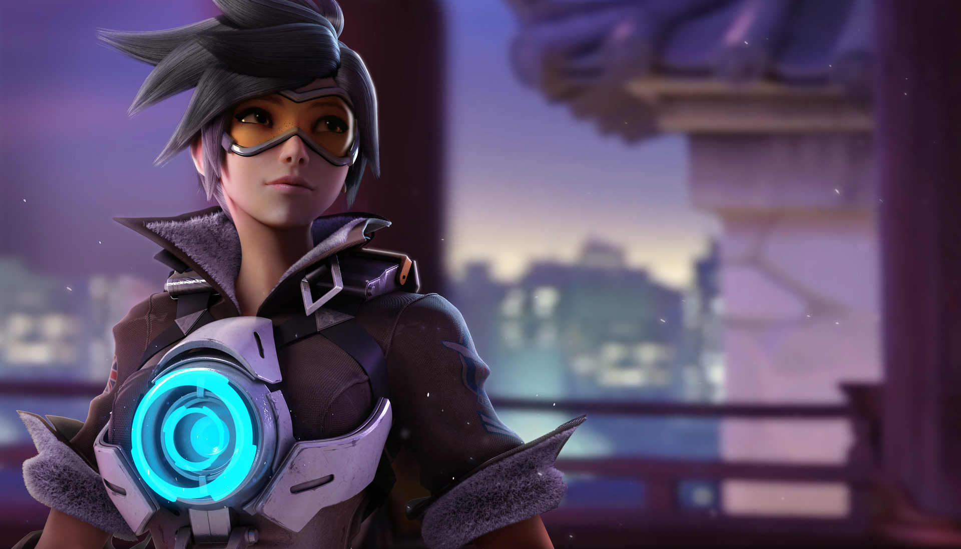 overwatch character background