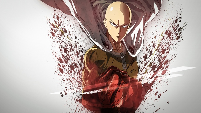 One punch man wall paper