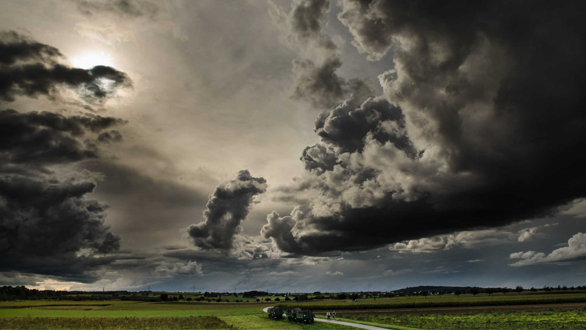 Cloudy sky pictures