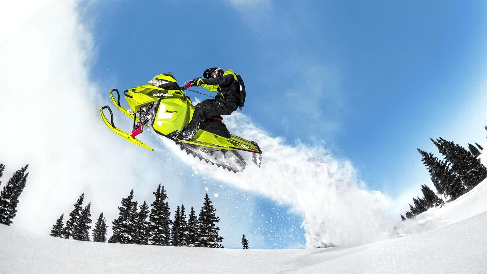 Pictures of snowmobiles