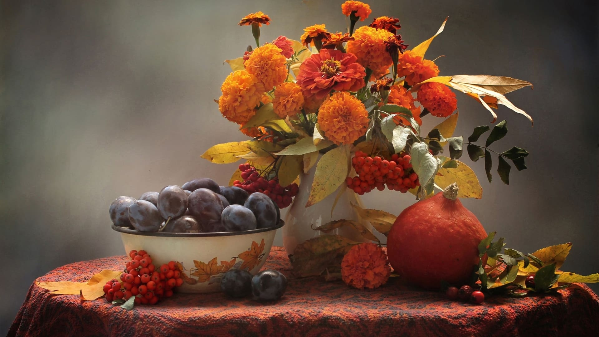 Images of fall flowers