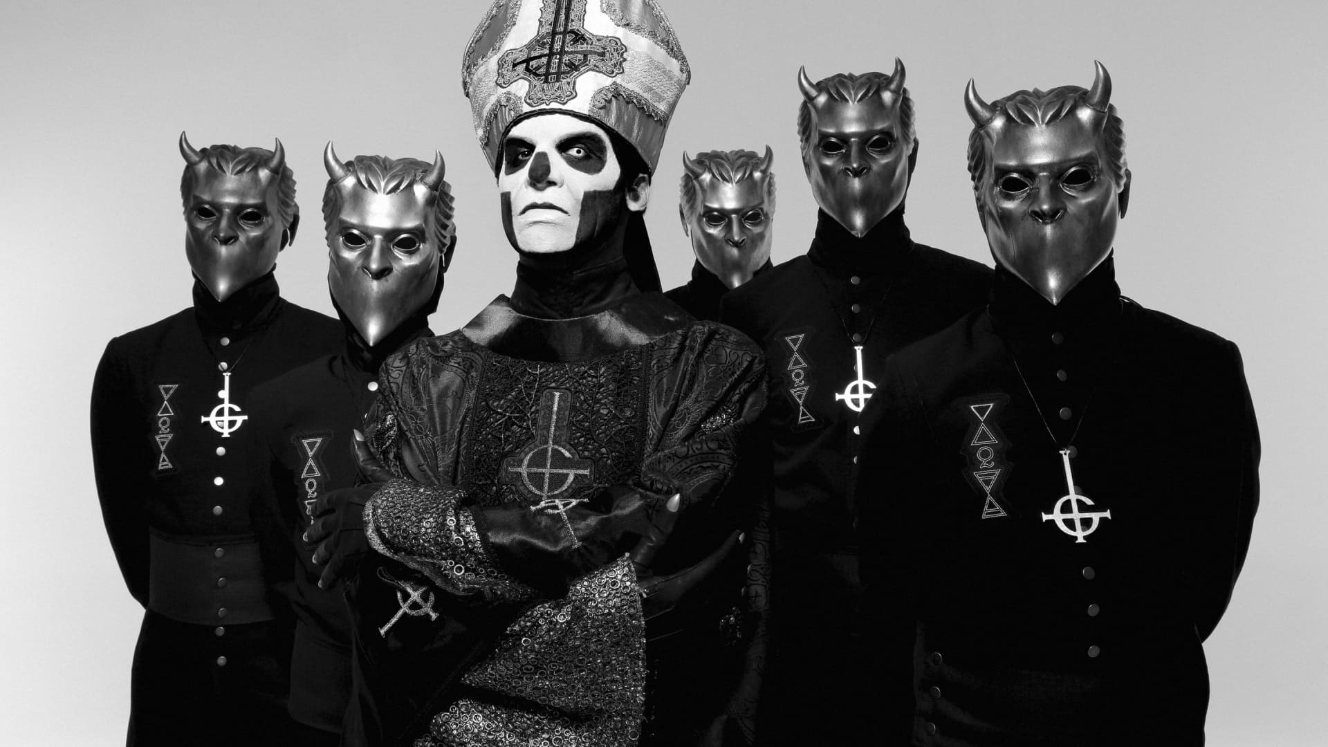 Ghost wallpaper band