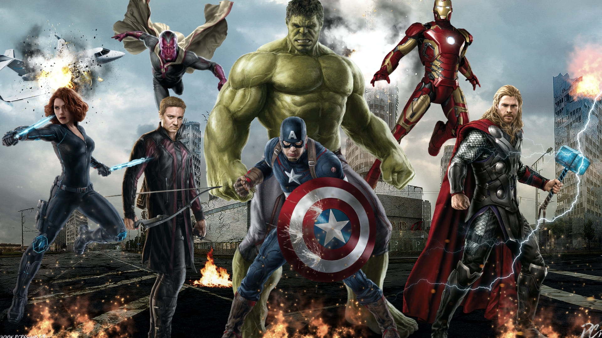 Avengers hd wallpapers for laptop