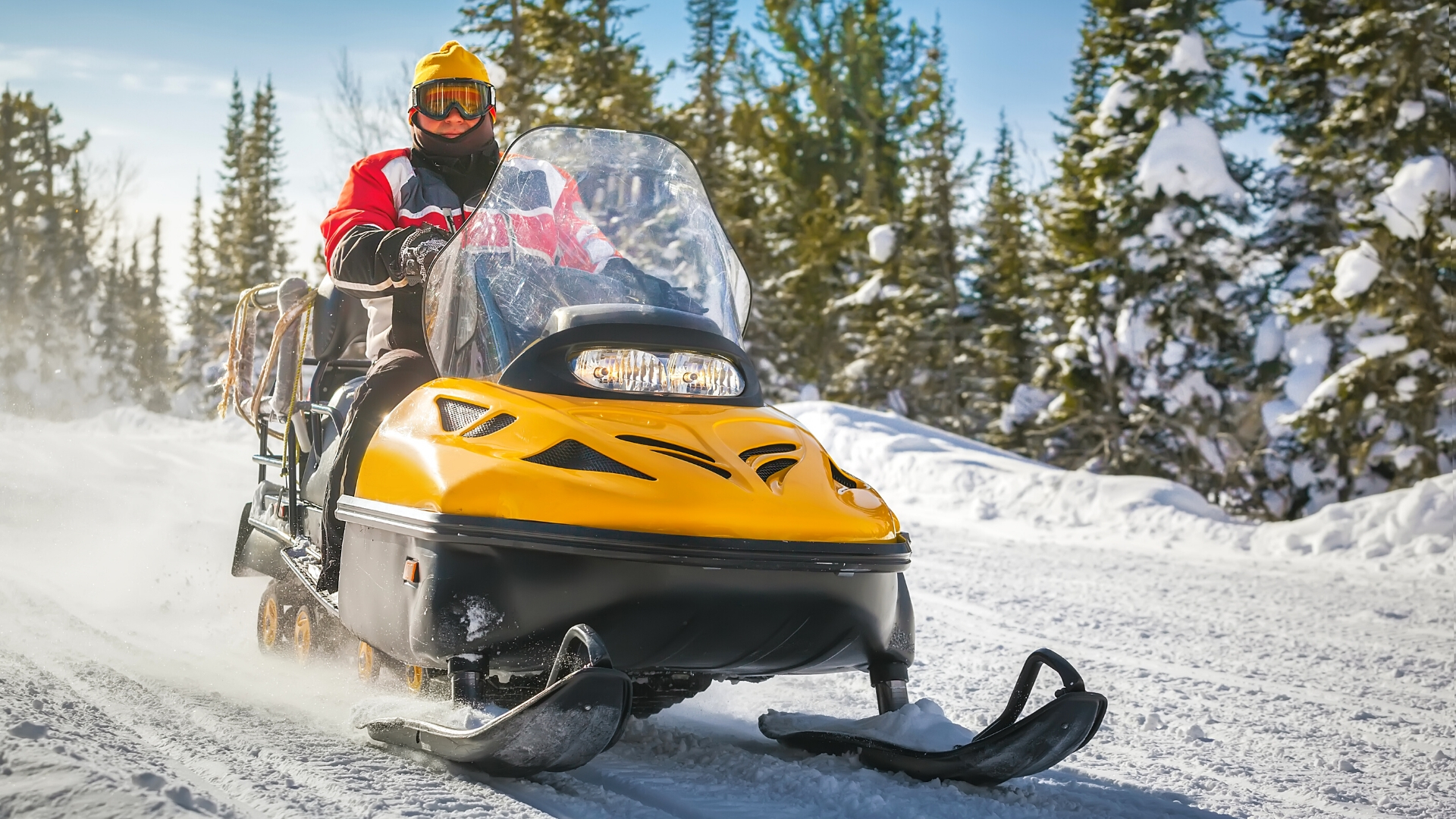 Snowmobile pictures