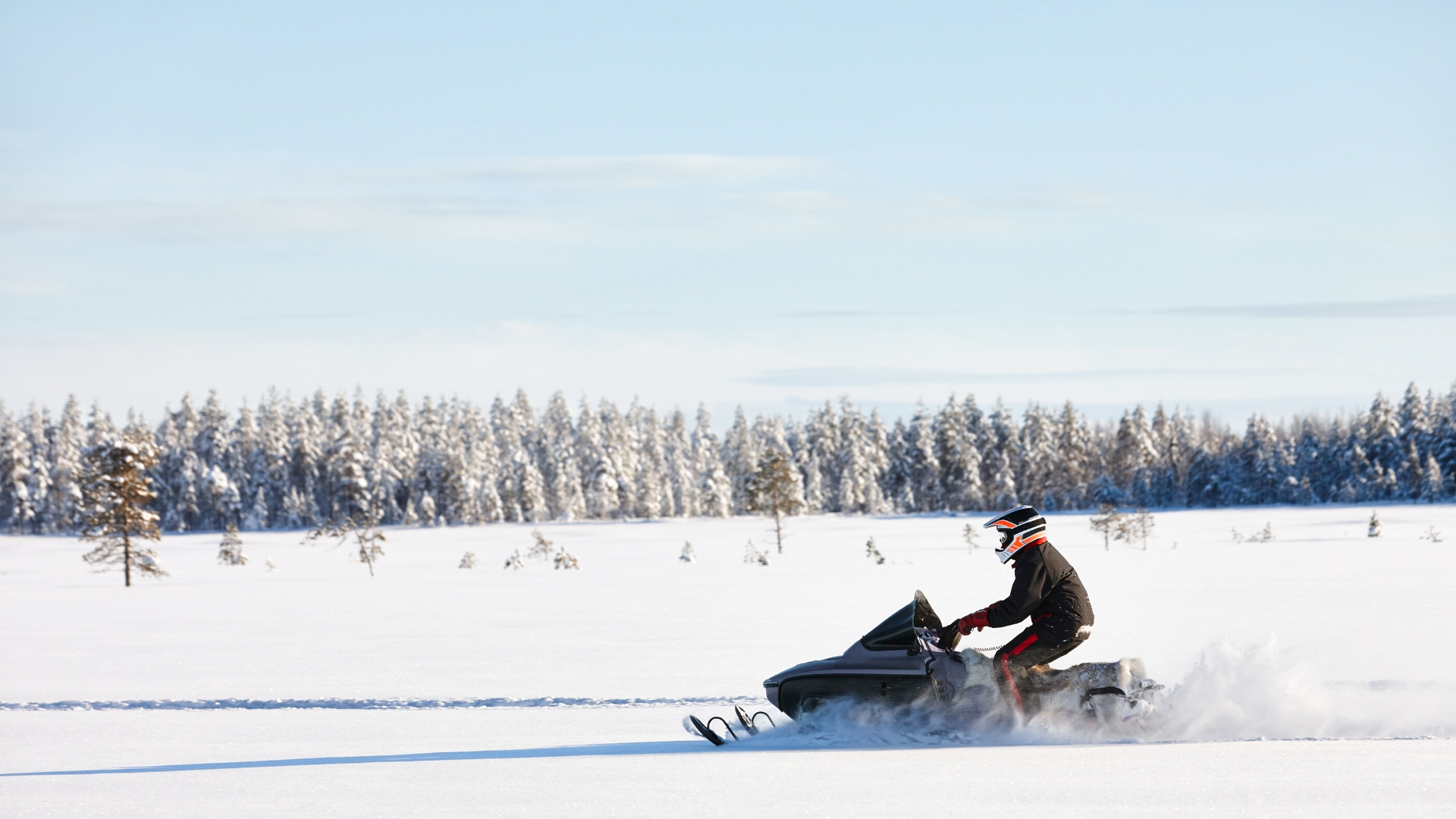 Snowmobile wall paper