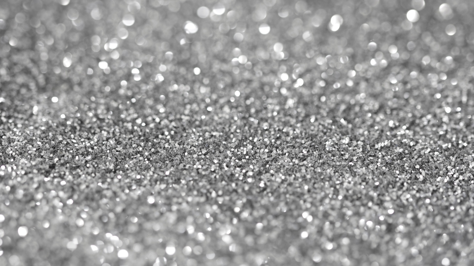 Sparkly silver background