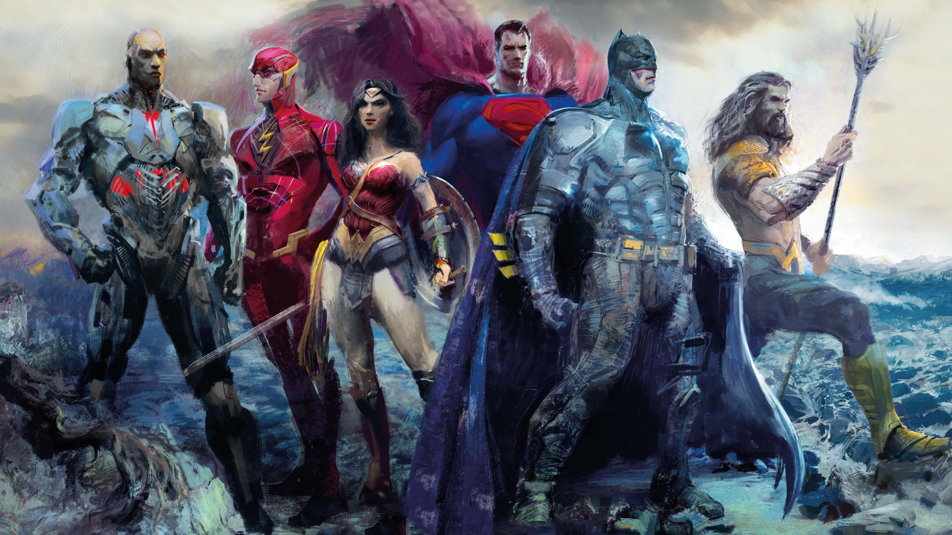 images of justice league