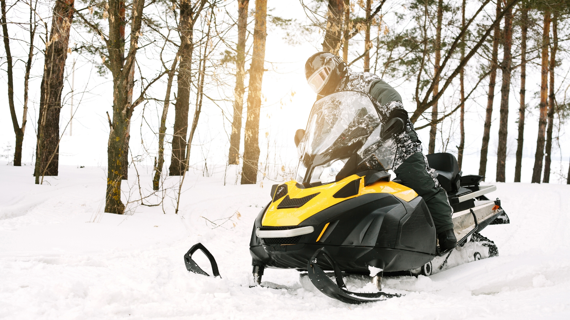 Snowmobiles images