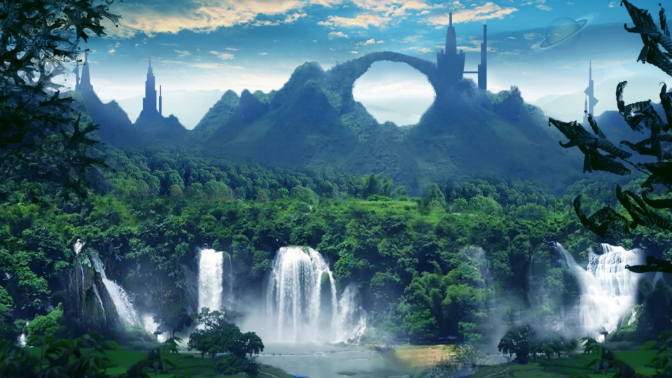 Fantasy backgrounds hd