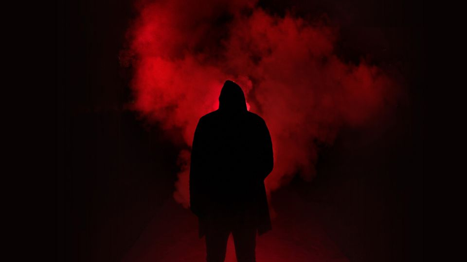 Black and Red Background