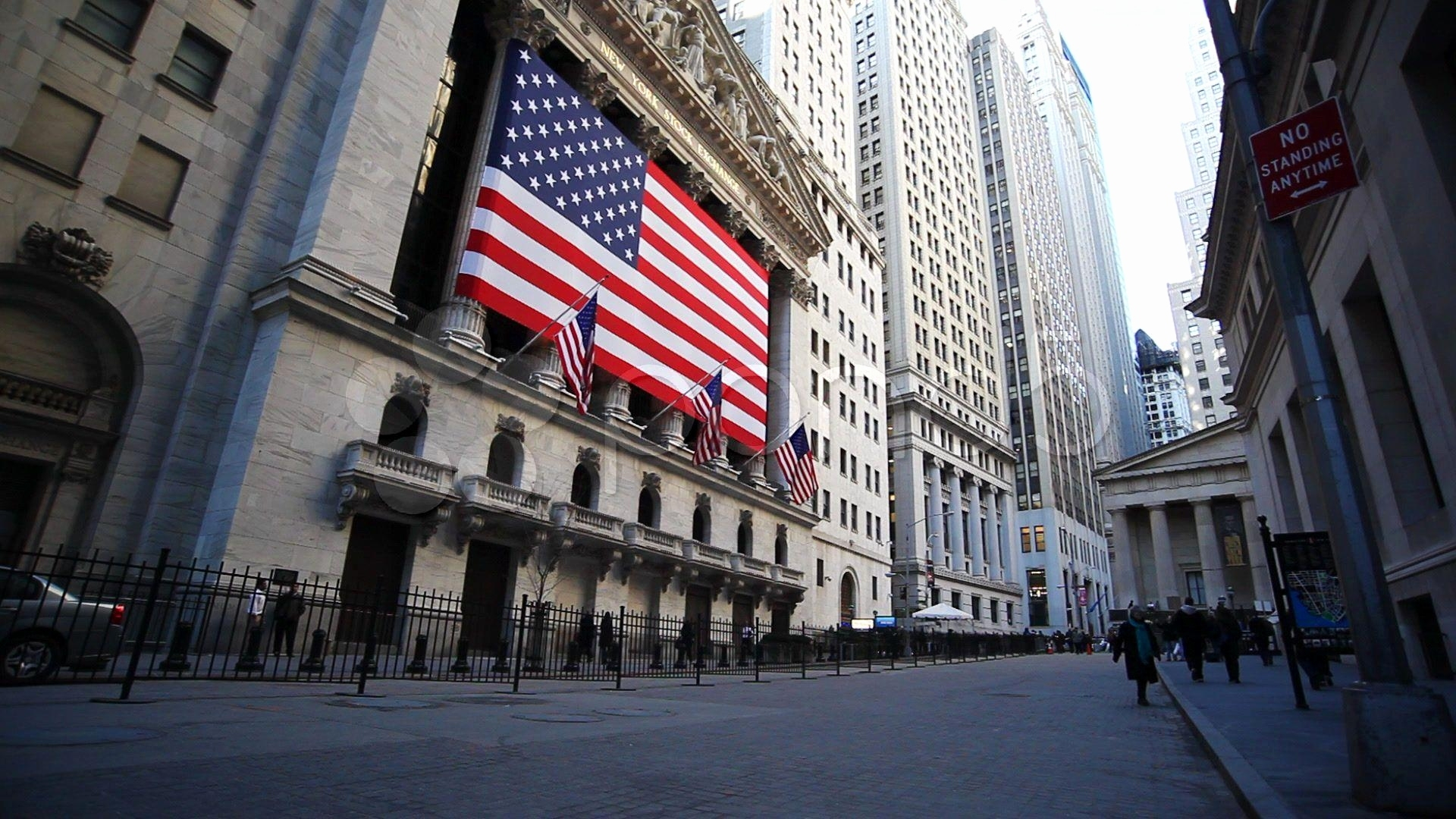 Wall street background