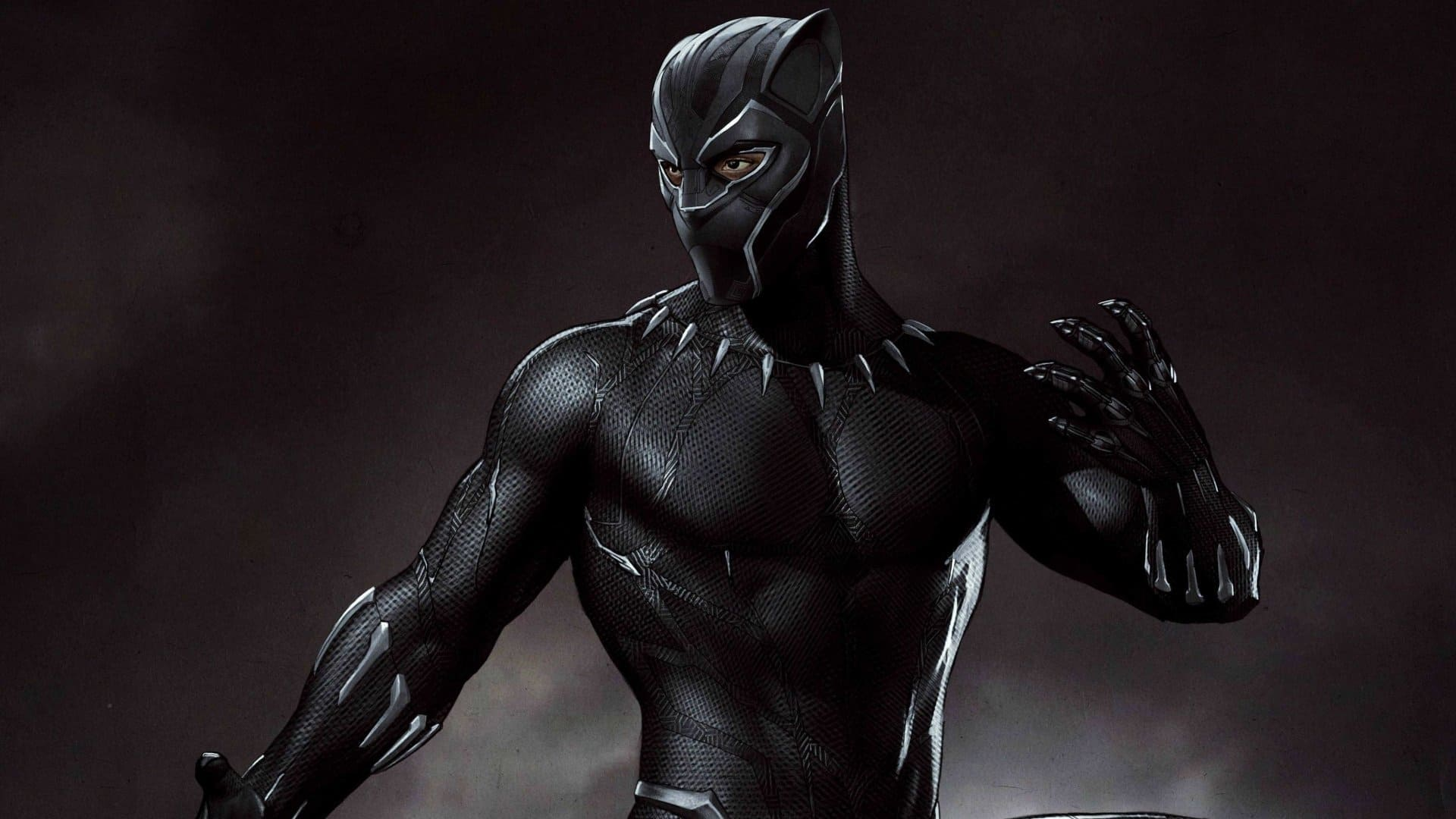 Black panther wall paper