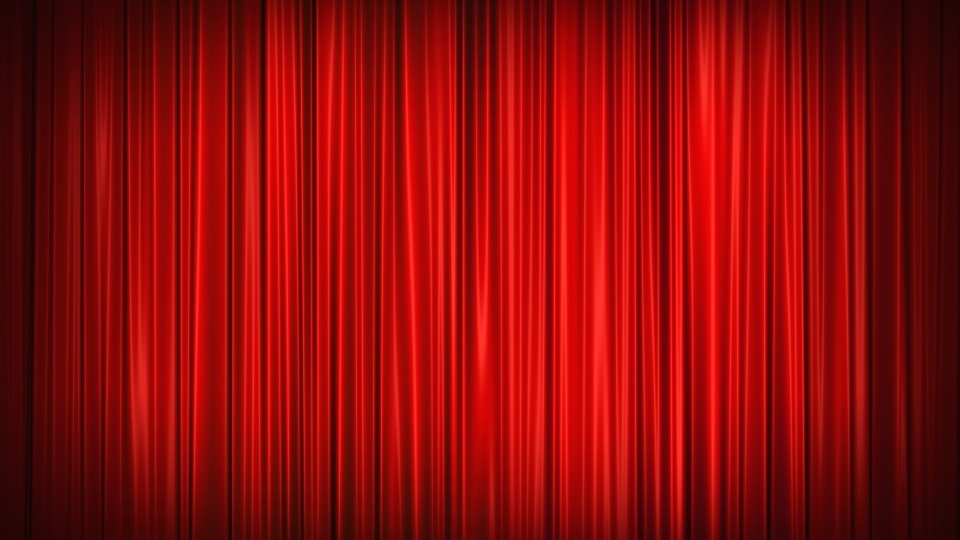 Aesthetic red background