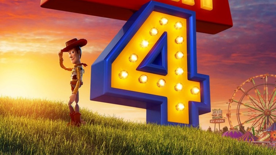 Toy story 4 woody poster
