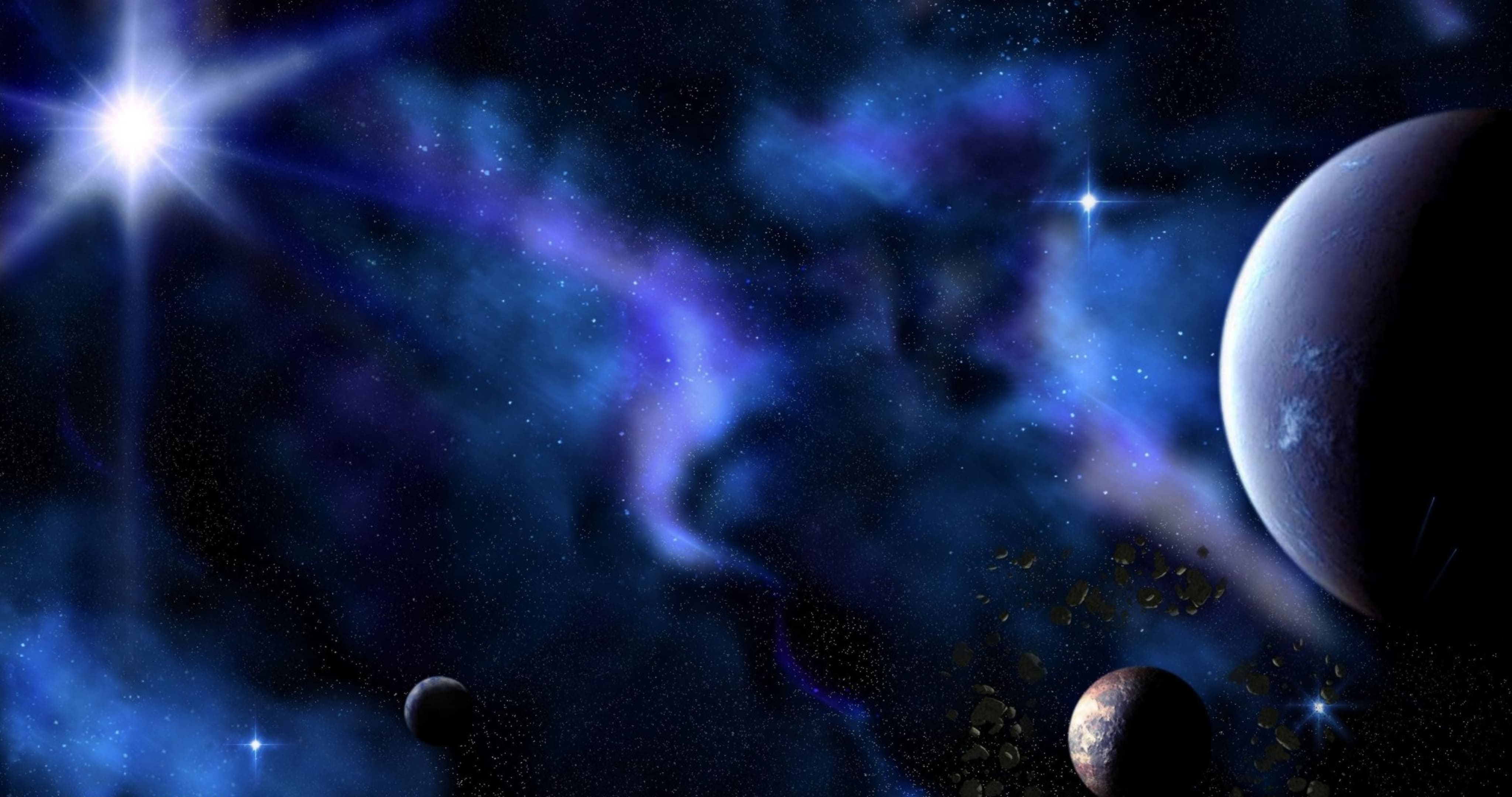 space wallpapers 4k